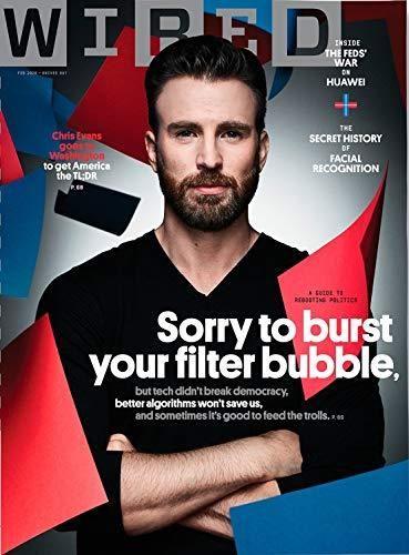 Wired Magazine February, 2020 Chris Evans