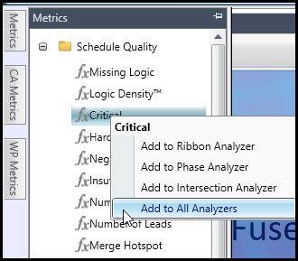 Customize metrics