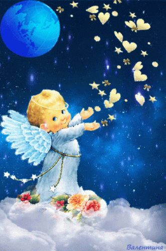 Baby Angel GIF - Baby Angel Hearts - Discover & Share GIFs