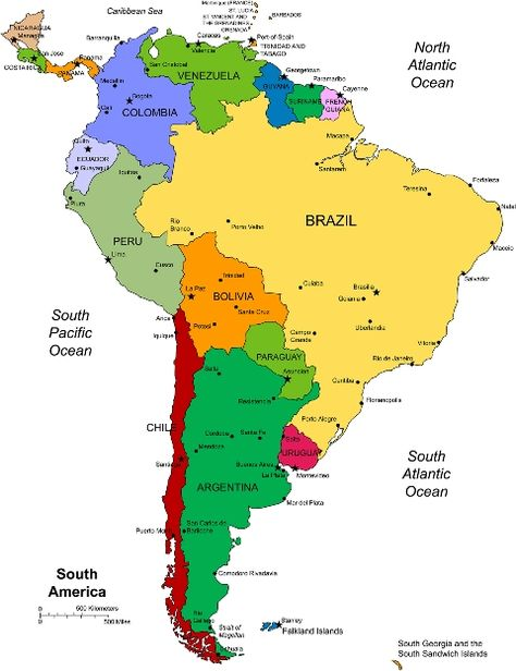 Amazon River In South America Map.Rain Forest Amazon Rainforest South America Map South America