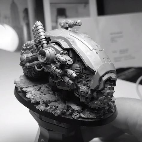 Quick video of the Armiger bike kit bash. A lot of you in DM's and on Reddit have asked for a tutorial, and I'll aim to do one sometime…