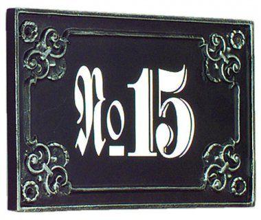 Hausnummernschild Nr 511 Hausnummernschild Klingelschild Schilder