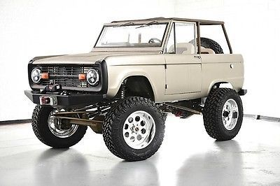 Details About 1975 Ford Bronco Ford Bronco Classic Bronco Ford