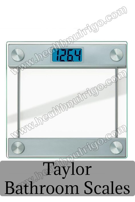 Best Taylor Bathroom Scales