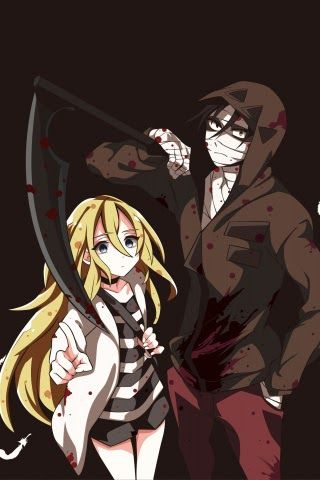 31 Anime Couple Hd Wallpaper Mobile Download Art Anime Couple Satsuriku No Tenshi Wallpaper Download Best 19 Love Couple In 2020 Anime Angel Of Death Anime Angel