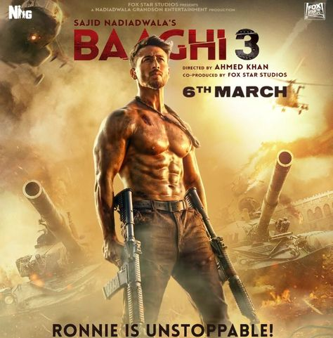 Tiger Shroff Filmed Baaghi 3 Action Scenes Among 400 Real Bomb