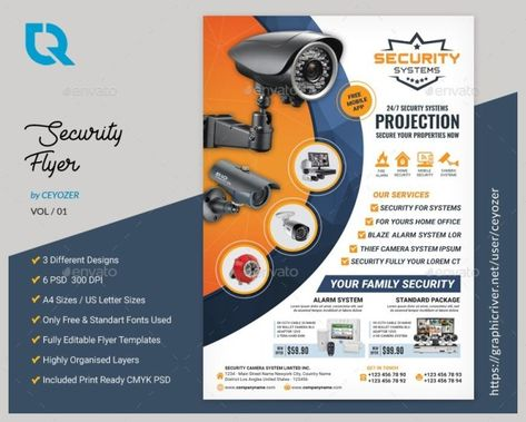 Security Camera Flyer Templates - Onlinedegreebrowse.com