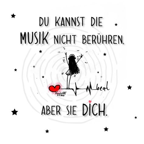 ❣️🎶 Manchmal hilft es,#Musik ganz #laut zu hören,damit die vielen #Gedanken im #Kopf leise werden. 🎧✨ #positivevibes #inspiration #music #believeinyourself #motivation #Sprüche #art #spruchdestages #mein2018 #ausderreihetanzen #meinlebenundich...