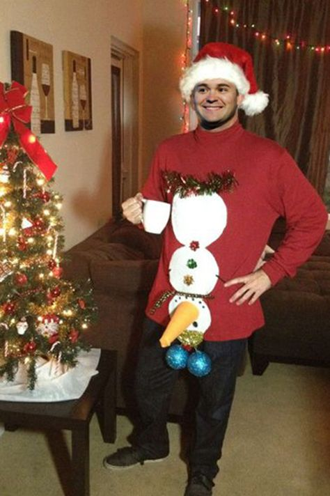 NASCAR Drivers and their Ugly Christmas Sweaters