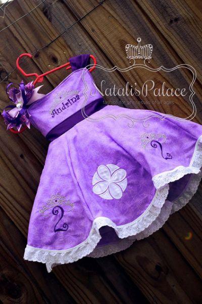 Vestido De Princesa Sofia Original Fiesta 2 Bebé