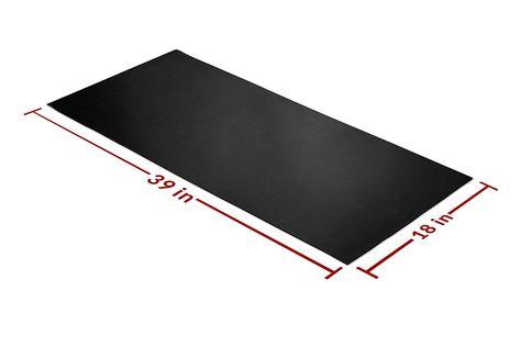 Rubber Sheet Roll Heavy Duty High Grade 60a Neoprene Black 39x18 Inch By 1 16 5 125 For Plumbing Work Bench Gaskets Diy Materials Workbench Plumbing