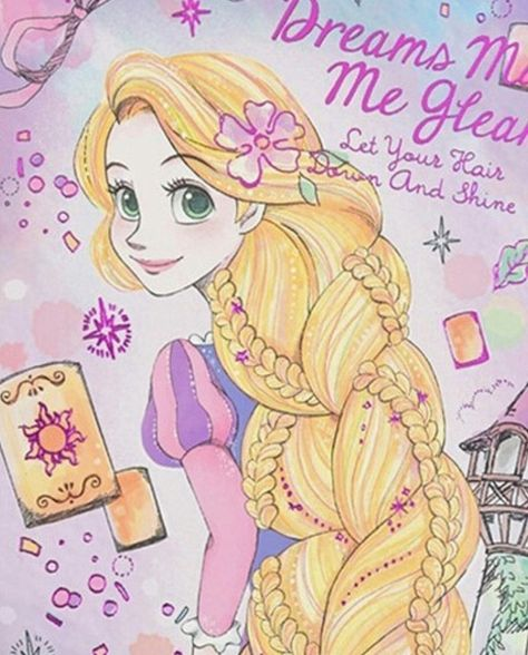 Dreams Make Me Gleam- Rapunzel