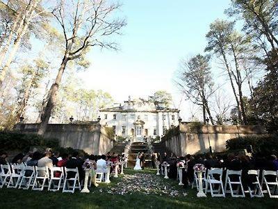 Atlanta History Center Wedding Venue Outdoor Buckhead 30305
