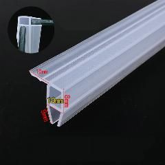 Draught Excluder Weather Strip Draft Stopper 10mm Glass Screen Seals Shower Room Frameless Angle Corner Seals A10 X 5m In 2020 Shower Room Weather Stripping Window Insulation Kit