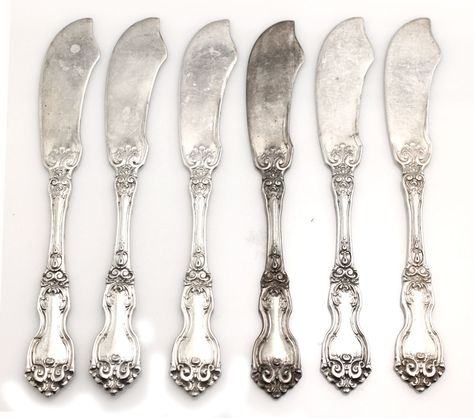 Aegean Weave-Wallace Sterling Butter Spreader s
