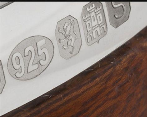 Celtic Knot Band Ring - Solid Strength with Edinburgh Hallmark stamped by  Edinburgh Assay Office - Celtic Design Scotland Edinburgh