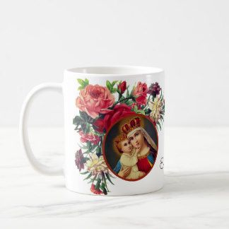 Our Lady of Immaculate Conception Catholic Mug Virgin Saint Mary