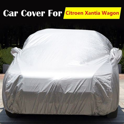 Outdoor Car Cover Protector Dirty Scratch Sun UV Heat Rain Snow Proof Resistant