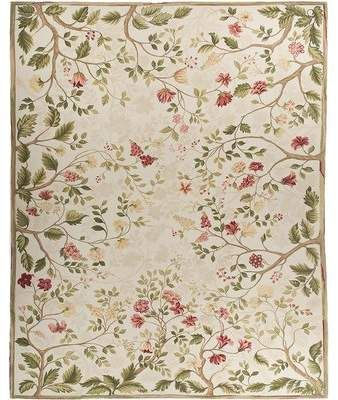 Bokara Rug Co Inc One Of A Kind Milano Savonile Hand Knotted 14 2 X 20 1 Wool Beige Green Area Rug Bokara Rug Co Wool Area Rugs Rugs On Carpet Area Rugs