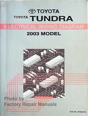 Advertisement Ebay 2003 Toyota Tundra Electrical Wiring Diagrams Original Factory Manual Toyota Tundra 2002 Toyota Tundra 2009 Toyota Tundra