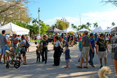 West Palm Beach Greenmarket Saturdays In Downtown West Palm Beach West Palm Palm Beach