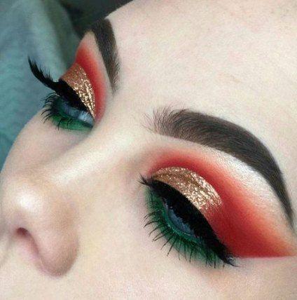 Super Makeup Red Green Faces 20+ Ideas