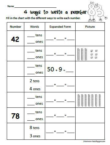 Base ten worksheets 3rd grade