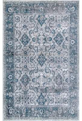 Charlton Home Vara Blue Area Rug In 2019 Rugs Rugs Usa