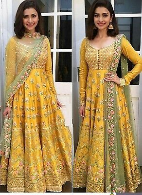Christmas Pakistani Anarkali Ethnic Designer Salwar Kameez Dress Indian Wedding