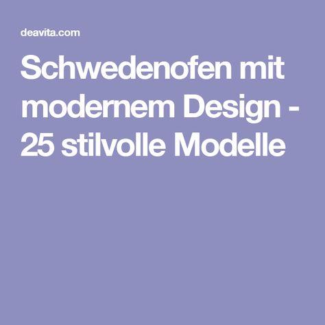 schwedenofen mit modernem design - 25 stilvolle modelle | ofen, Wohnzimmer dekoo