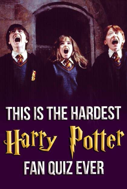 This Is The Hardest Harry Potter Fan Quiz Ever Harry Potter Quiz Buzzfeed Harry Potter Buzzfeed Hardest Harry Potter Quiz