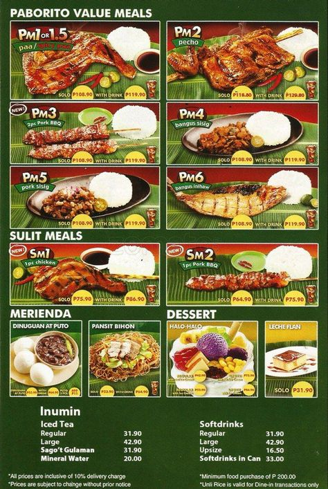 Mang Inasal | Philippines in 2019 | Philippines food ...