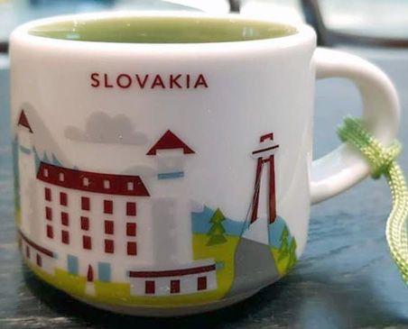 Starbucks Slovakia Bratislava Here Ornament You Castle Are nwOvm08N