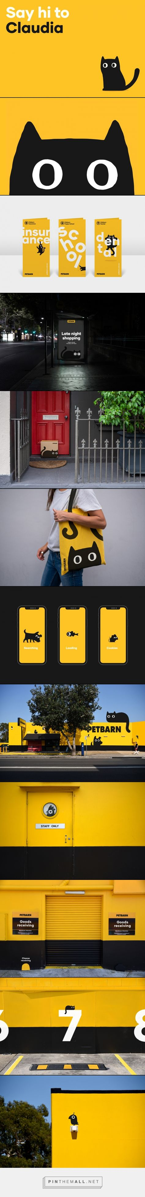 Brand New New Identity For Petbarn By Landor A Grouped Images Picture Pin Th Visual Identity Design Logo Inspiration Branding Branding Design