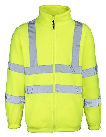 Rty High Visibility High Visibility Full Zip Fleece Review Fleece Jacket Jackets Coats Jackets Women
