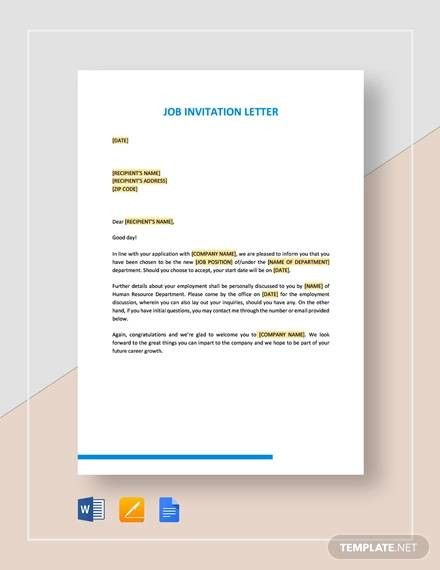 Sample Church Invitation Letter Letter Template Word Personal Reference Letter Professional Reference Letter