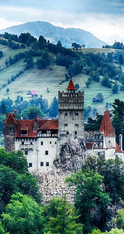 Bran Castle, Romania -– also known as Dracula's Castle -- looks like something straight out of a fairy tale!