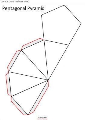 Figuras geometricas para armar de papel  Imagui  Apuntes