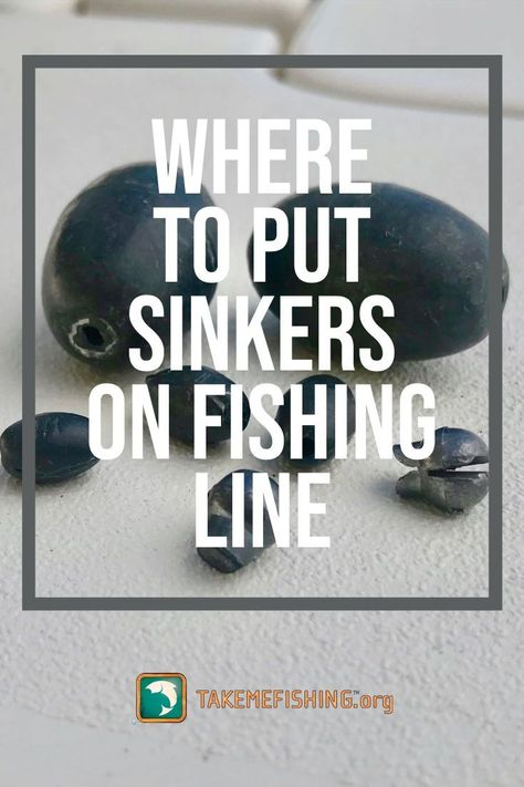 Sinkers are essential tackle for all anglers. Learn common types of sinkers, where to put sinkers on fishing line, and great tips for using sinkers correctly. Trout Fishing Tips, Fishing Rigs, Walleye Fishing, Fishing Knots, Sport Fishing, Carp Fishing, Best Fishing, Saltwater Fishing, Fishing Tackle