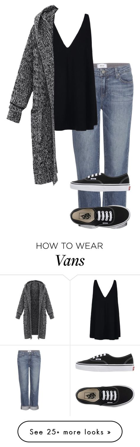 """""""Untitled #717"""" by vireheart on Polyvore featuring Paige Denim, Vans and STELLA McCARTNEY"""