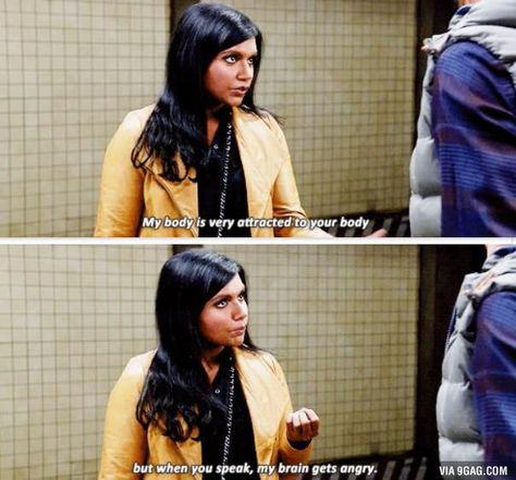 The mindy project Funny Cute, The Funny, Hilarious, Tumblr Funny, Funny Memes, Funny Tweets, The Mindy Project, Mindy Kaling, Lol