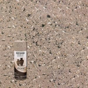 Rust Oleum American Accents 12 Oz Stone Creations Pebble Textured Finish Spray Paint 6 Pack 7995830 The Home Depot In 2020 Stained Concrete Textured Spray Paint Rustoleum