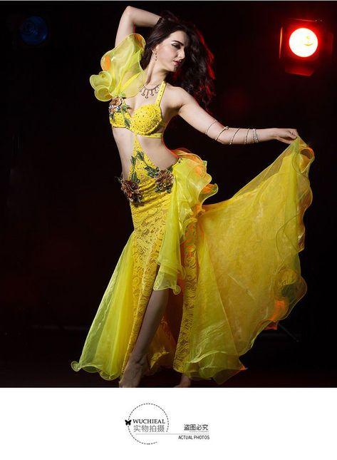 NEW Ballroom Competition Dance Dress Modern Waltz Tango Standard Dress #HB183