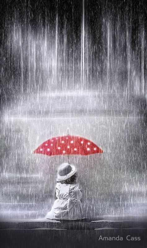 """""""Staying dry"""" Photographic Prints by Amanda Cass 