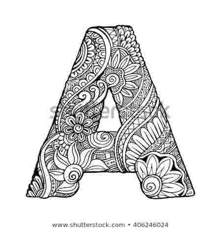 Letter A Design Coloring Pages When The Ancient Greeks Adopted The Alphabet They Had No Us Doodle Art Letters Doodle Art Designs Art Drawings Sketches Simple