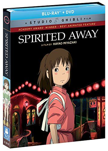 楽天市場 送料無料 千と千尋の神隠し Spirited Away 宮崎駿 ジブリの名作 お得なブルーレイ Bd Dvd コンボボックス 北米版 ツーアール 楽天市場店 Spirited Away History Of Animation Hayao Miyazaki