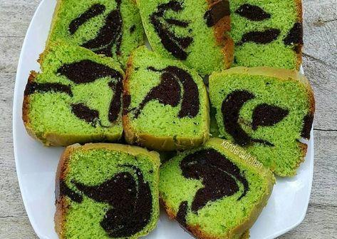 Resep Bolu Pandan Coklat Oleh Xander S Kitchen Resep Bolu Pandan Resep Coklat