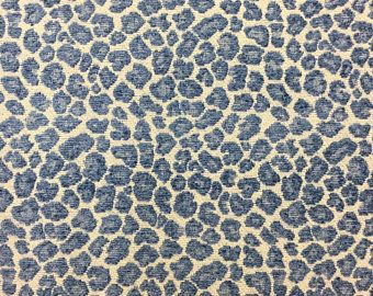 Blue Cheetah With Images Animal Print Fabric Indoor Bench Cheetah