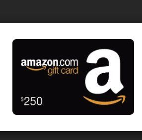 Win a $250 00 Amazon gift card  Just complete the form and