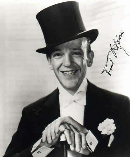 Fred Astaire +Autogramm+ ++Hollywood Legende++